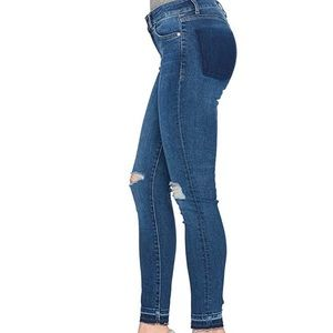 DL1961 Margaux skinny jeans.